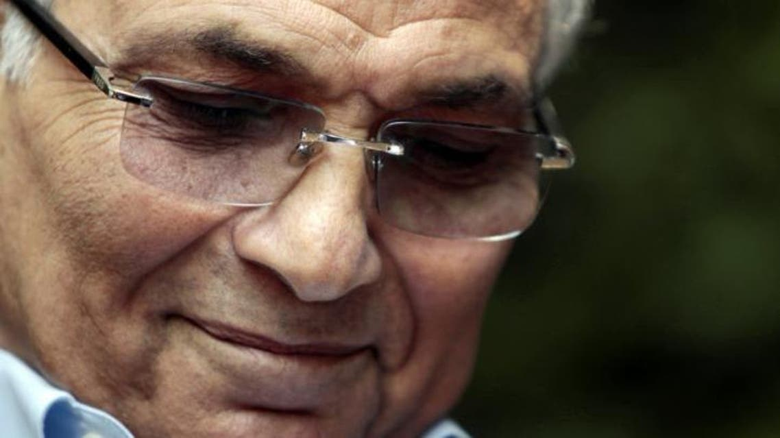 File photo shows former presidential candidate Ahmed Shafiq at a news conference in Cairo, Egypt, May 14, 2012. (Reuters)
