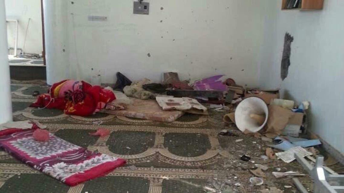 أفعال الميليشيات في مسجد التوحيد في تعز - رئيسية