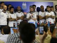 """لاعبو الأرجنتين يقاطعون الإعلام بسبب """"المخدرات"""""""