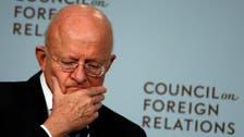 امریکا کی نیشنل انٹیلی جنس کے ڈائریکٹر جیمز کلیپر مستعفی