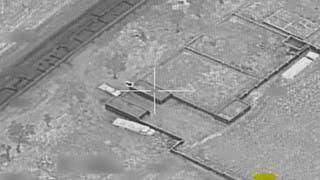 مقاتلات التحالف تقصف معسكرا سريا في النقعة بصعدة