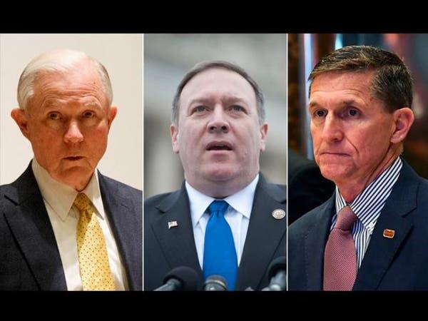ترمب يختار مرشحيه لـ CIA والعدل والأمن القومي