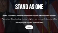 Thousands of Americans pledge online to side with Muslims