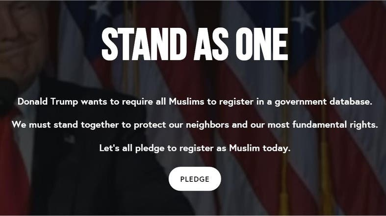 Thousands of Americans pledge online to side with Muslims ...