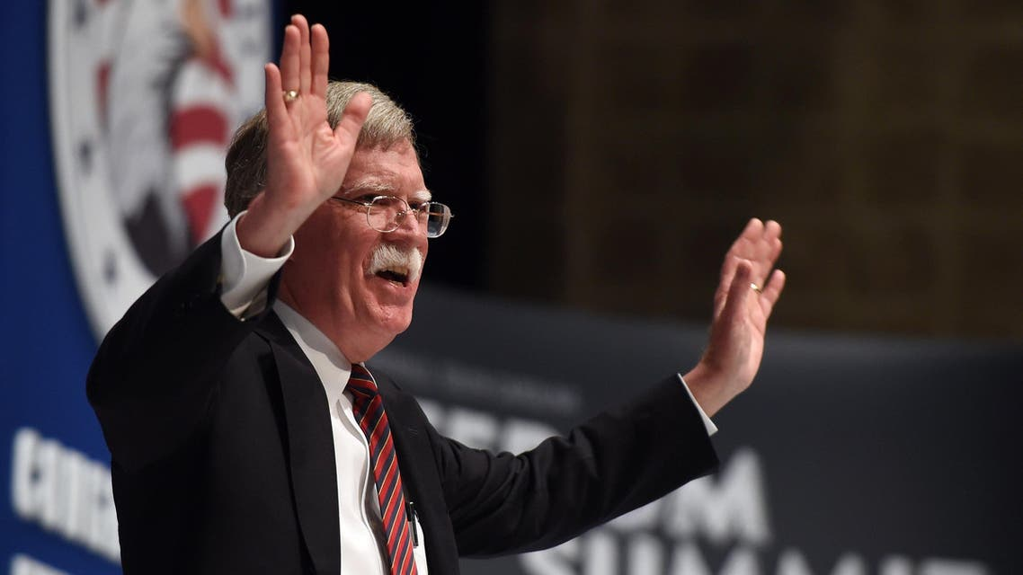 Former U.N. Ambassador John Bolton speaks during the Freedom Summit the Freedom Summit, Saturday, May 9, 2015, in Greenville, S.C. (AP