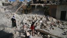 """حلب """"تئن"""" تحت الدمار.. واتهامات بين روسيا والمعارضة"""