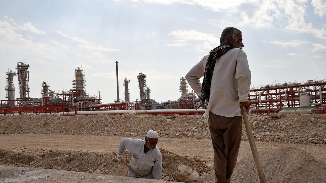 natural gas refinery in the South Pars gas field in Asalouyeh, Iran. (AP)