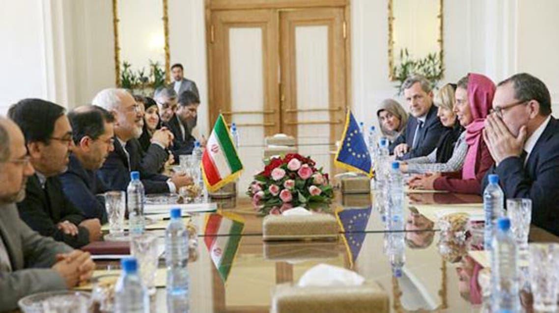 من مفاوضات الجولة الأولى بين أوروبا وغيران في طهران