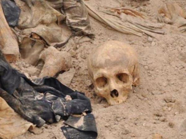 الموصل.. مقبرة جماعية تحوي 60 جثة معظمهم من النساء