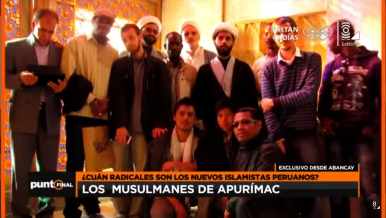"""Iran and Hezbollah have been actively spreading Shiite ideology in Latin America and helped many convert to Shiite Islam using so-called """"cultural centers"""". (Courtesy: Latina TV)"""