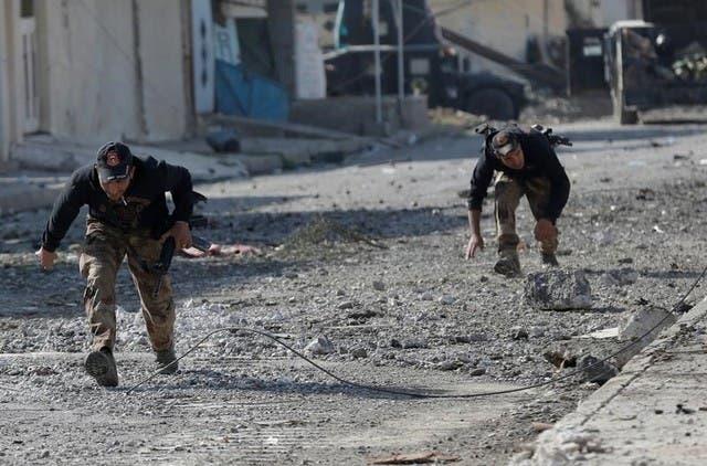 القوات العراقية تخوض حرب شوارع ضد داعش