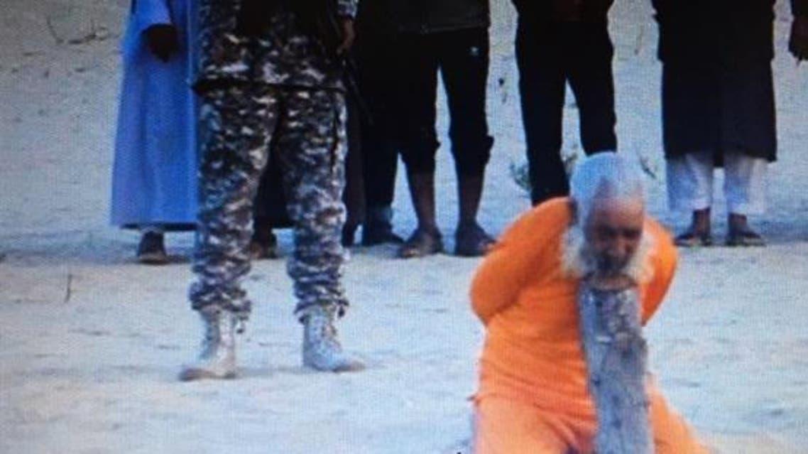 داعش يعدم شيخ مسن في سيناء