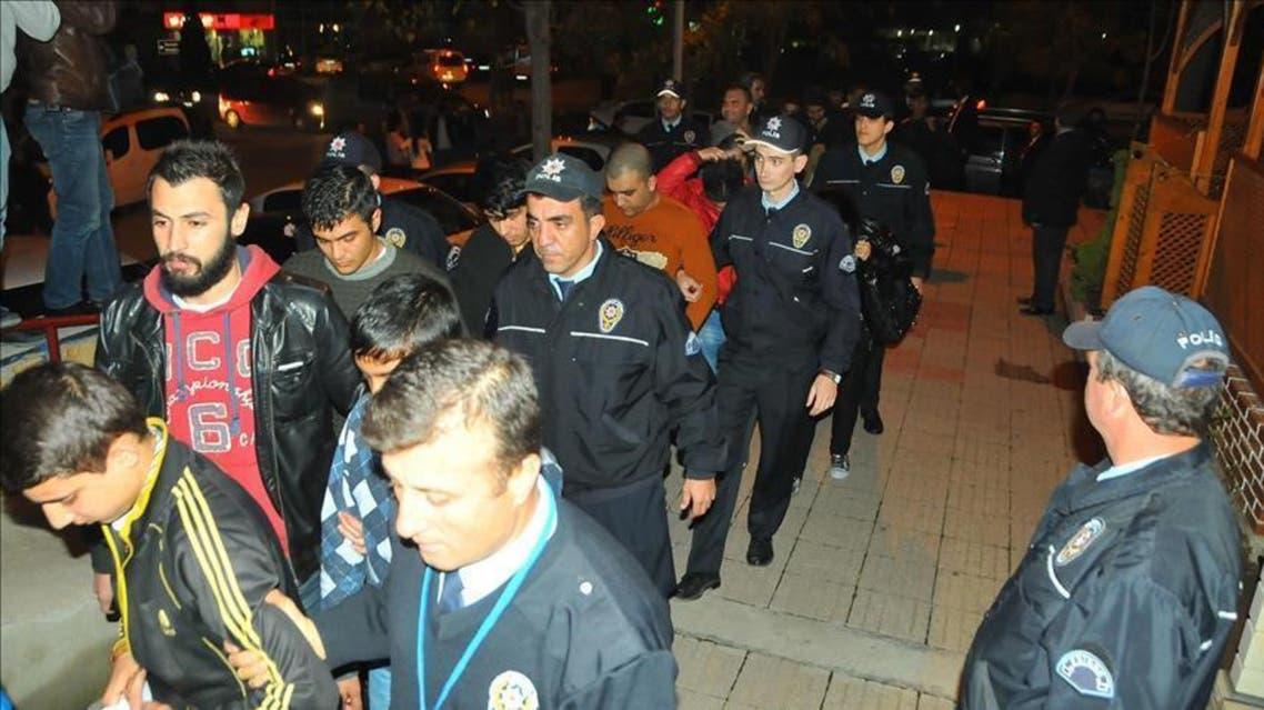 ترکیه بازداشت مهاحران