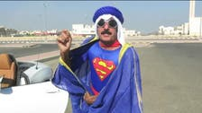What's Superman doing running in Kuwait's elections?