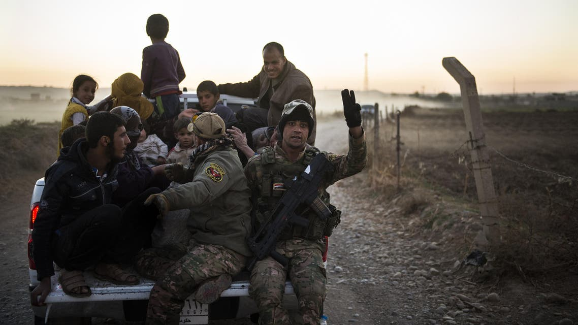 Counterterrorism units entered into the left coast of Mosul in Iraq amid fierce clashes against members of ISIS. AFP