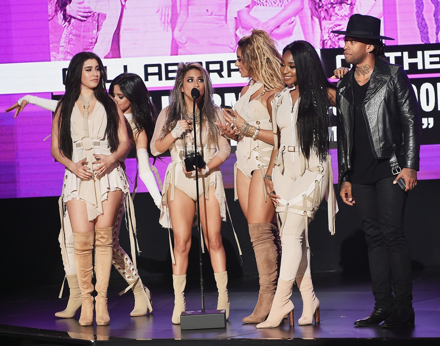 American Music Awards at Microsoft Theater on November 20, 2016 in Los Angeles, California. Kevin Winter/Getty Images/AFP
