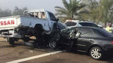 Fog blamed for 25-car pile-up in Abu Dhabi