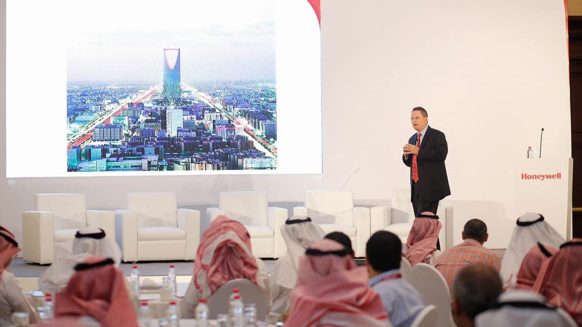 Norm Gilsdorf (President -Honeywell High Growth Regions Russia, Central Asia and Middle East) during the Honeywell Smart Building Score awards event in Riyadh, Saudi Arabia. (Supplied)