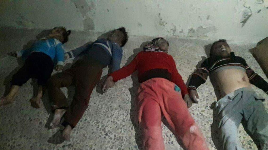 مجزرة في حي الشاغور شرق حلب مقتل 4 أطفال من عائلة واحدة