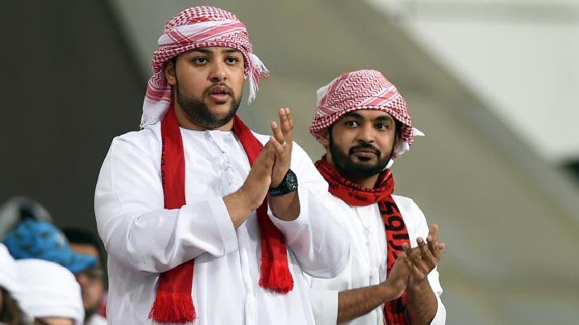 Al Ahli fans (Arabian Gulf League)