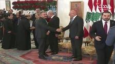 Watch: Saad Hariri refuses to shake hands with Syrian ambassador