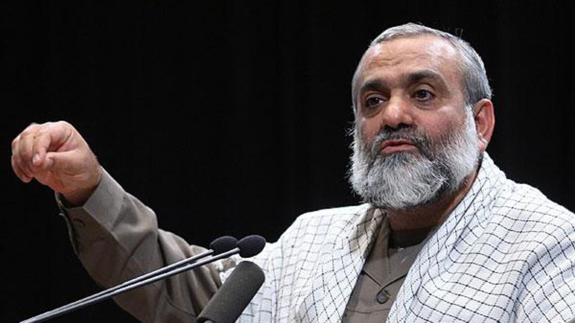 محمد رضا نقدي قائد قوات البسيج الايرانية