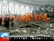 بالفيديو.. 40 قتيلاً بانهيار منصة بناء في الصين