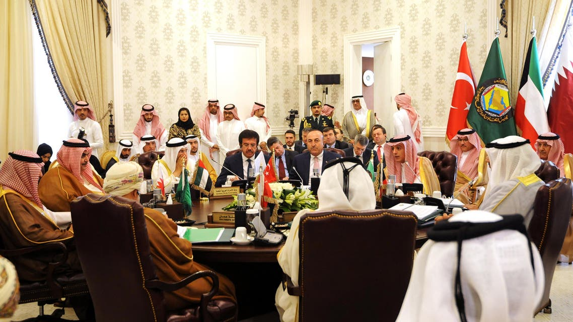 Leaders said that tampering with the security of Saudi Arabia means tampering with the security and feelings of the GCC countries and their people. (File photo: AFP)