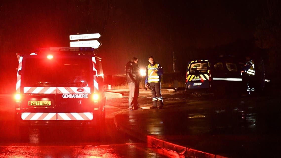 الشرطة الفرنسية في محيط دار الرهبان العجزة