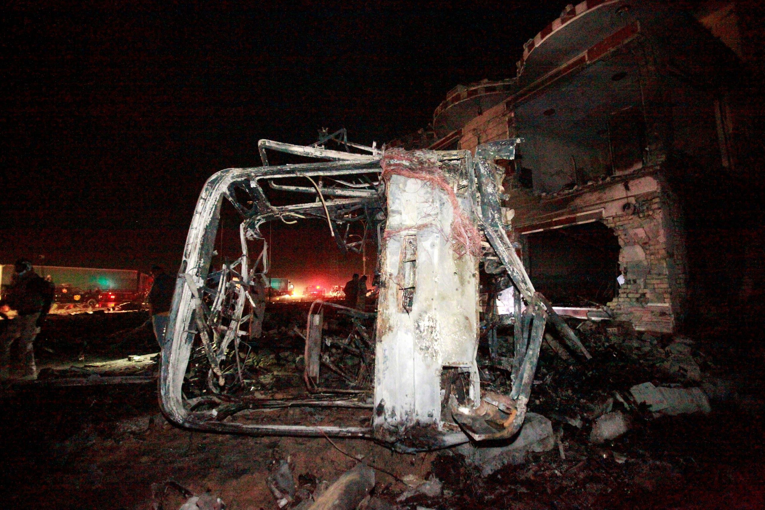 تفجير إرهابي لداعش في بغداد