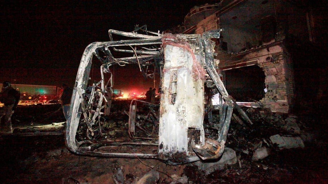 100 قتيل بتفجير جنوب شرقي بغداد.. وداعش يتبنى