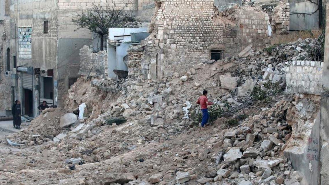 حلب دمار