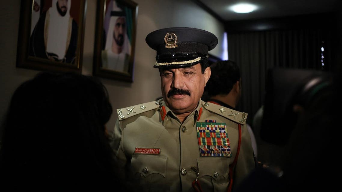 Khamis Mattar Mazeina had joined the police force on June 13, 1983 and was recenly chief of police. (AP)