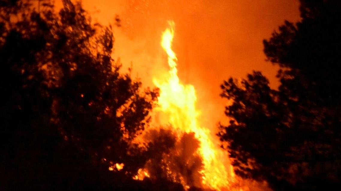 حريق حرائق اسرائيل 1