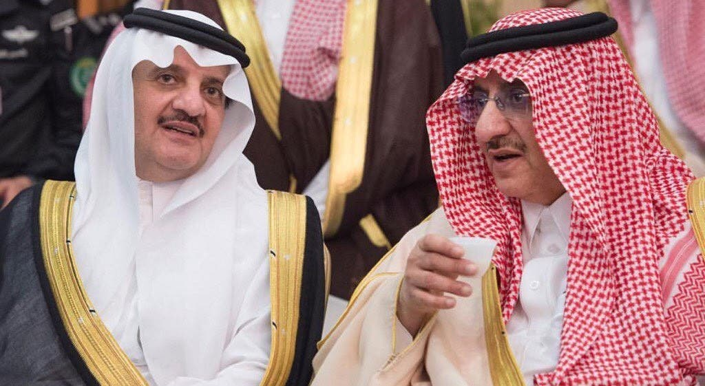 الأمير محمد بن نايف والأمير سعود بن نايف
