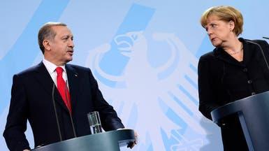 ميركل لأردوغان: لا تتدخل في شؤون ألمانيا الداخلية