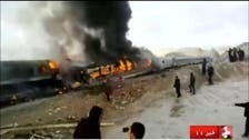 At least 36 killed in deadly Iran train crash