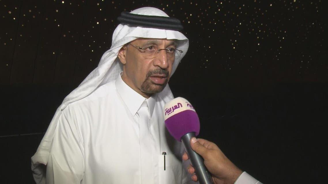 THUMBNAIL_ مقابلة وزير الطاقة السعودي خالد الفالح مع العربية