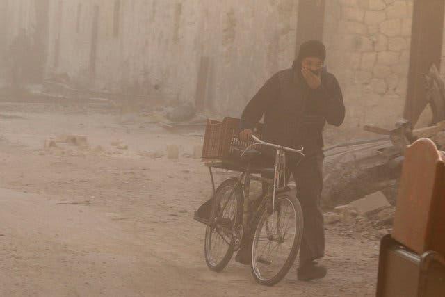 من حلب الشرقية
