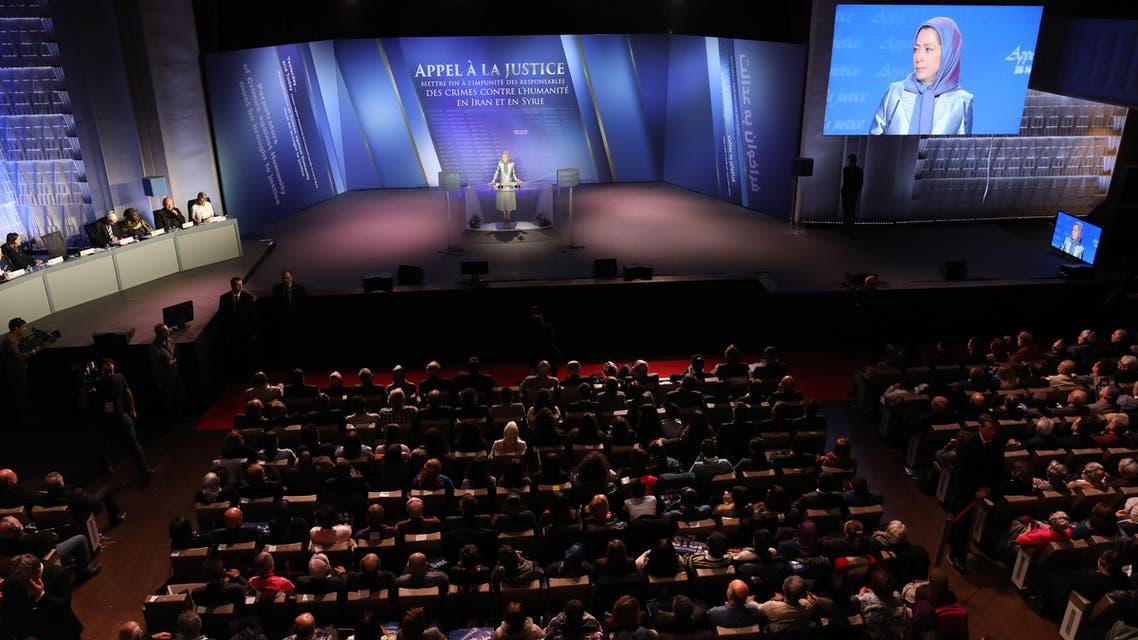 مؤتمر المعارضة الإيرانية في باريس