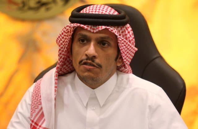 محمد بن عبد الرحمن آل ثانی وزیر امور خارجه قطر