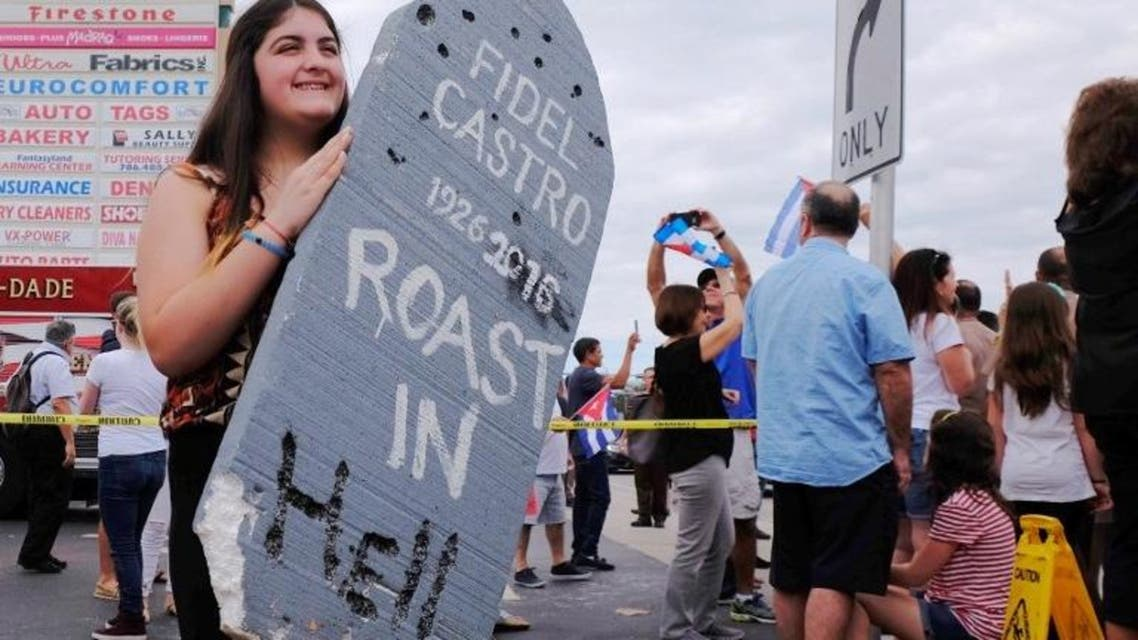 Some celebrate Castro's death, others mourn