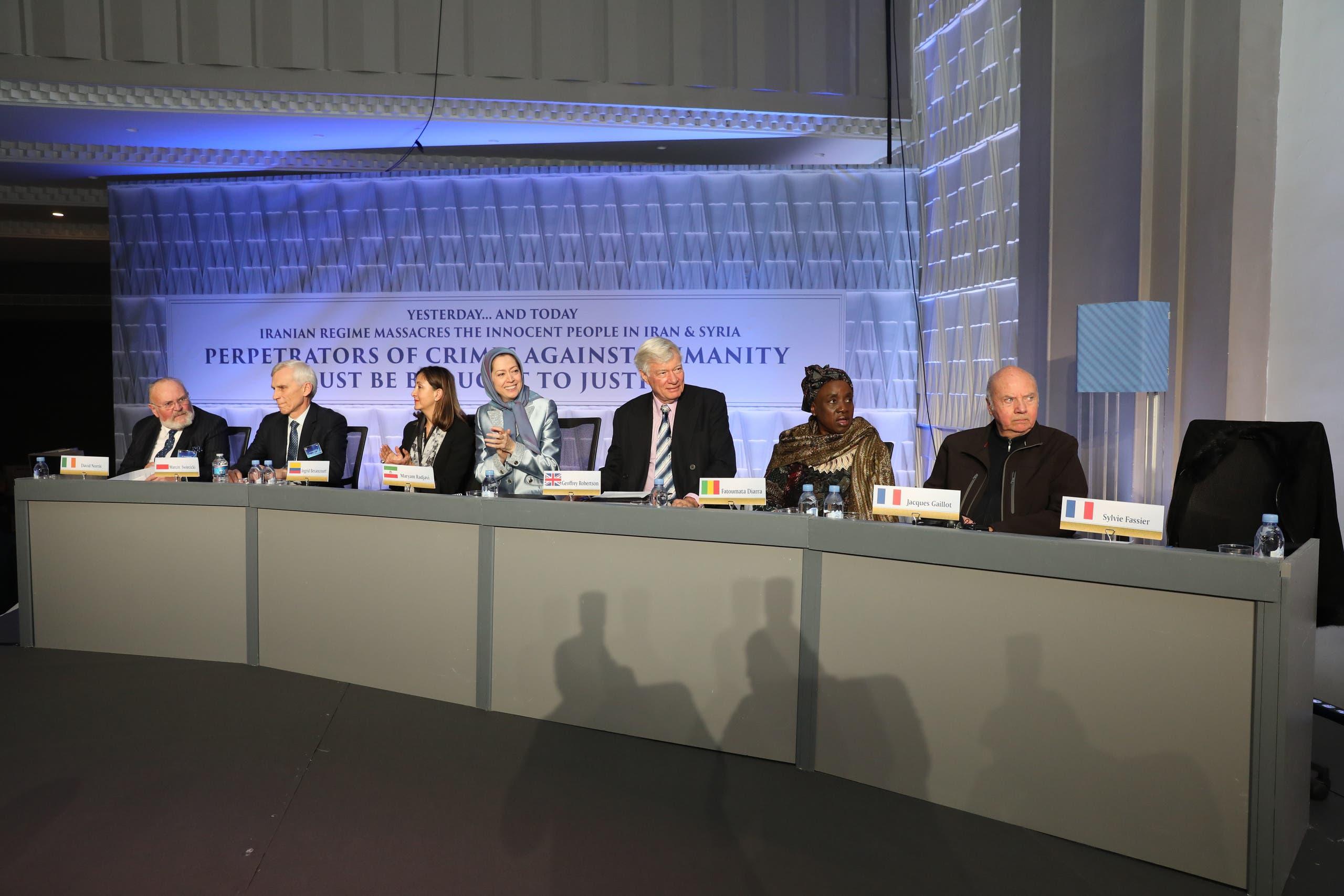 المعارضة السورية ومنظمات دولية شاركت في المؤتمر