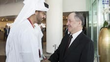 Abu Dhabi's Crown Prince meets with Iraq's Kurdistan president