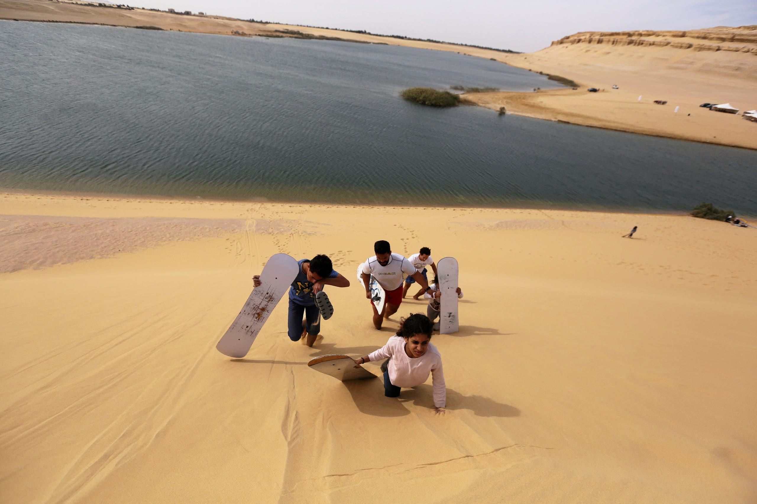 Desert adventures at Egypt's Wadi al Rayan
