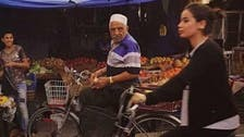 Baghdad woman on bicycle: Iraqis need to get used to it