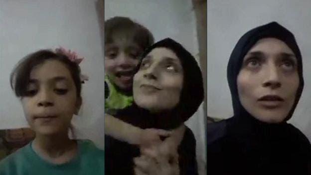 بانا العبد وأمها فاطمة
