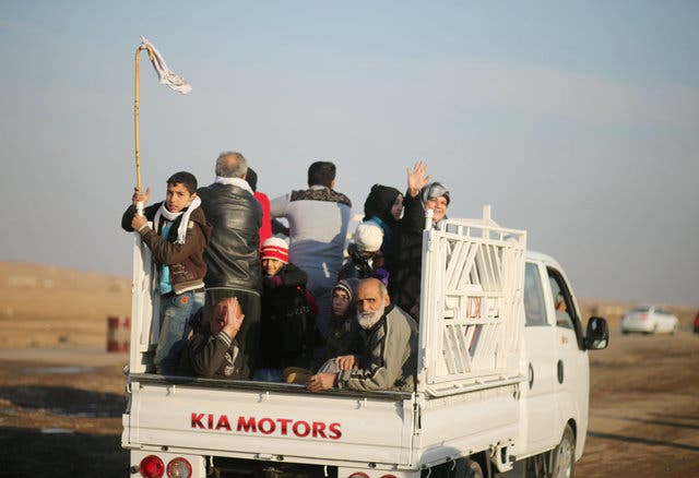 مدنيون في محيط الموصل