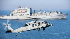 Iranian vessel points weapon at US helicopter