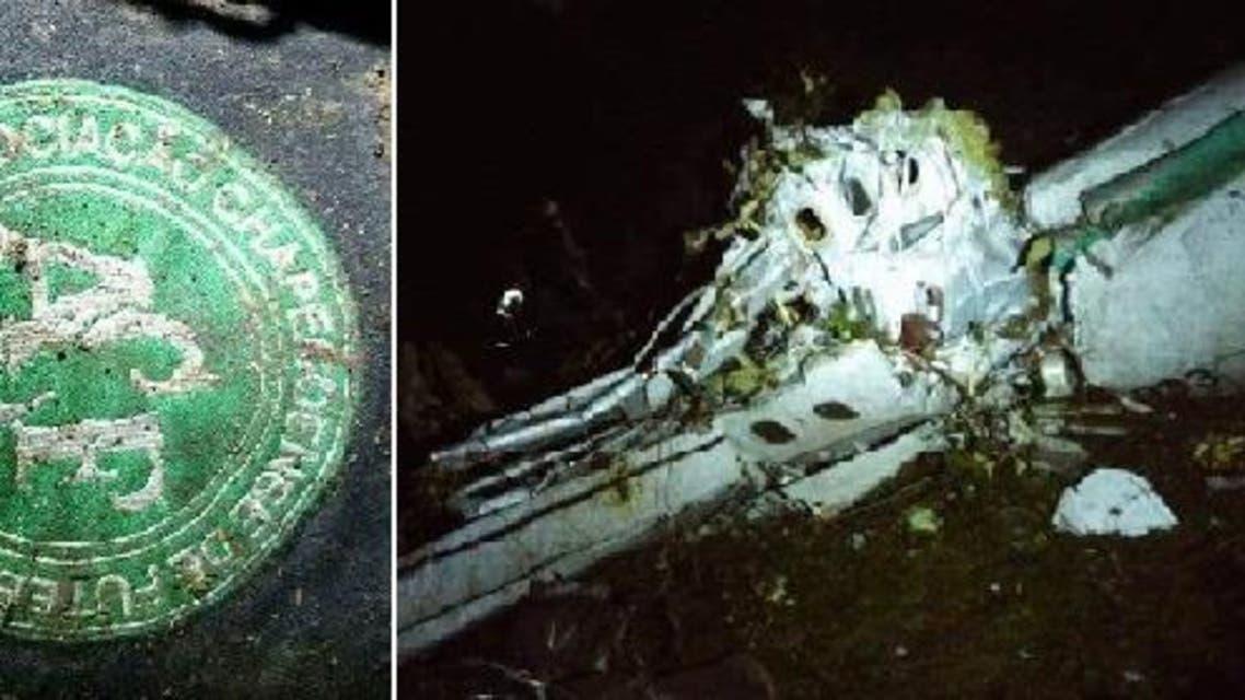 سترة أحد أعضاء فريق كرة القدم البرازيلي، وجدوها مفصولة عن جثته في موقع سقوط الطائرة